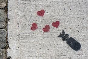 BanksyLoveBomb