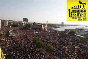 """Festival """"Čovjek od suzavca"""", održanog 7.7. u Istanbulu"""